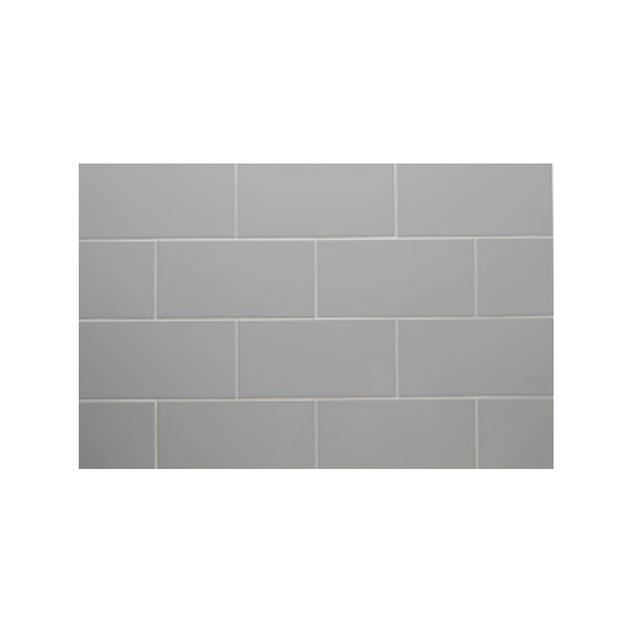 "Ceramic Subway Tile Smoke 3"" x 6"" Subway Smoke"