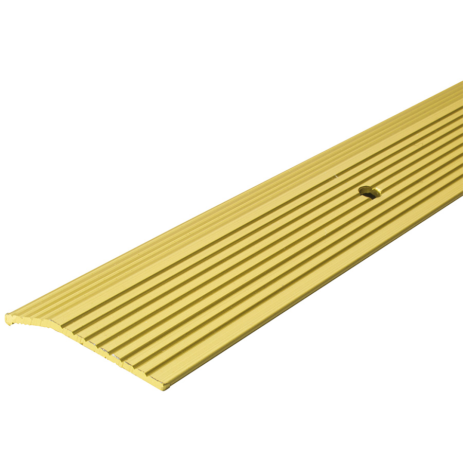 "Brass Carpet Trim Strip 1-3/8"" x 72"""