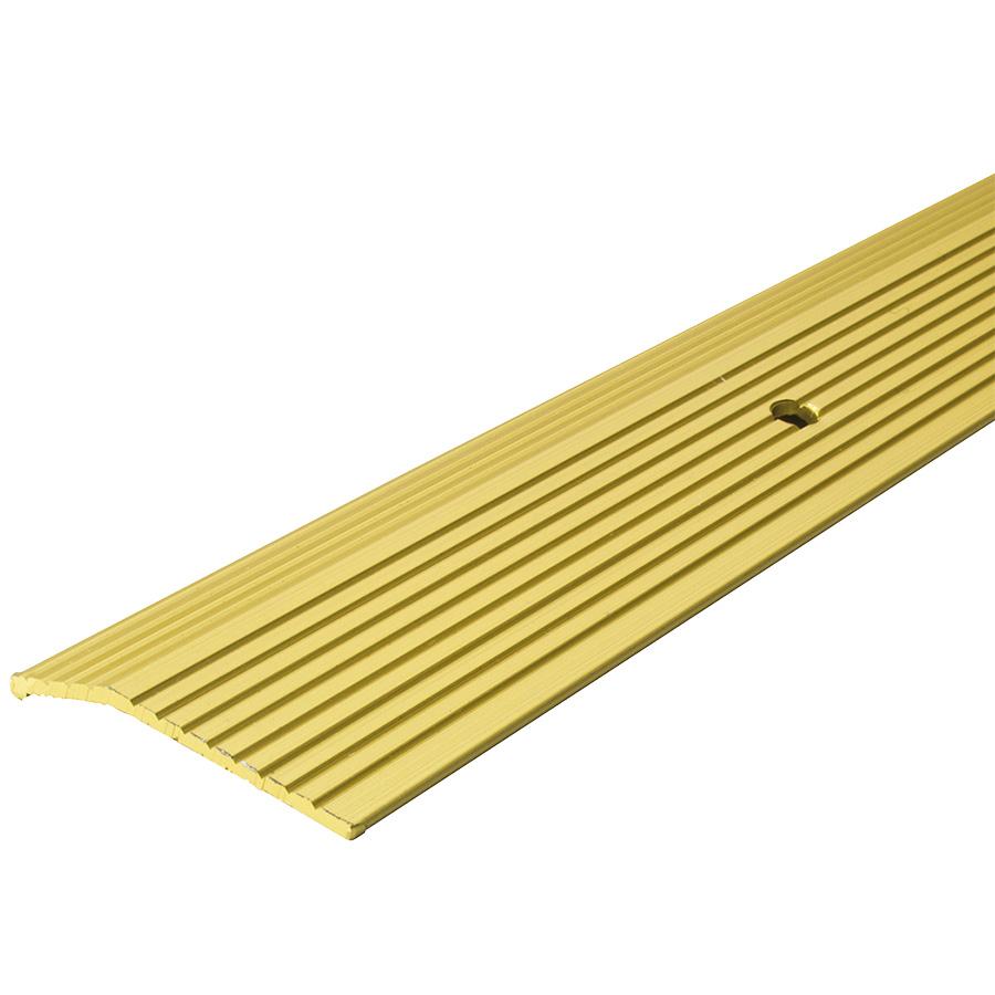 "Brass Carpet Trim Strip 2"" x 72"""