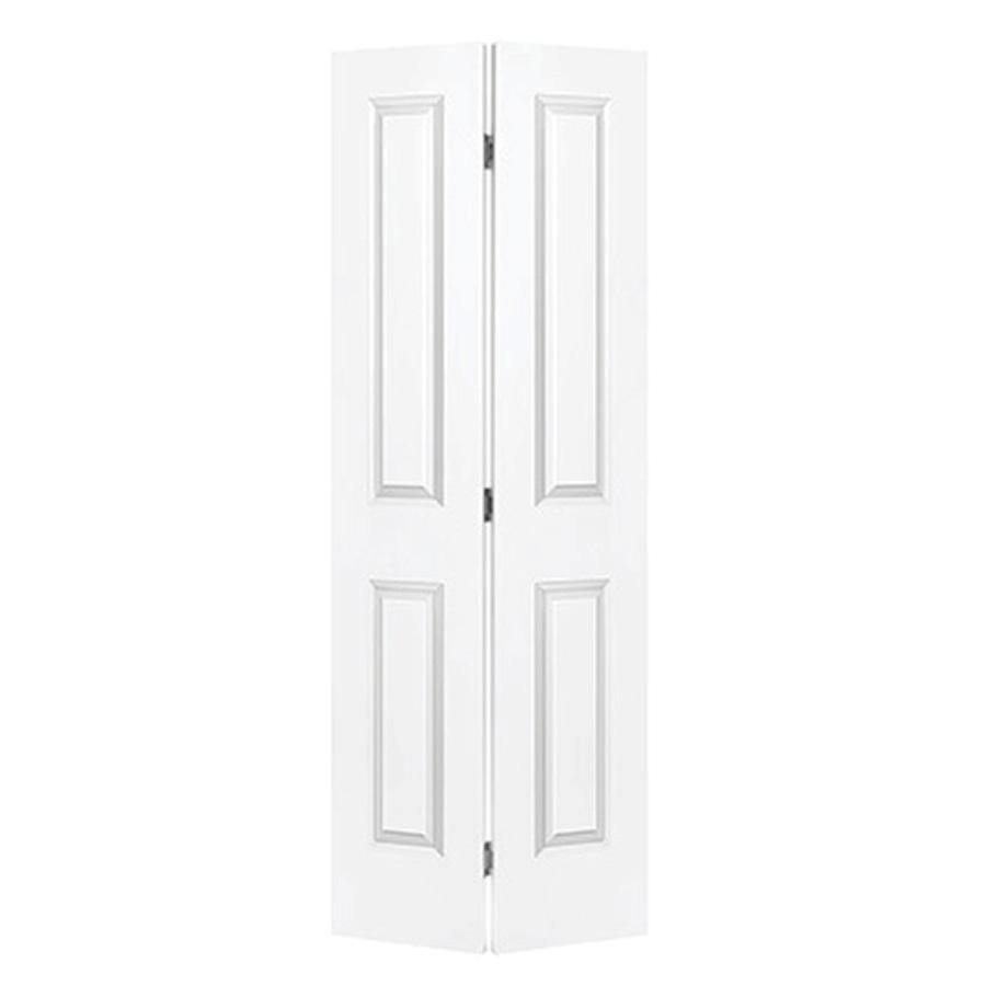 """Bifold Door Set 2-Panel Primed White 36"""" x 80"""""""