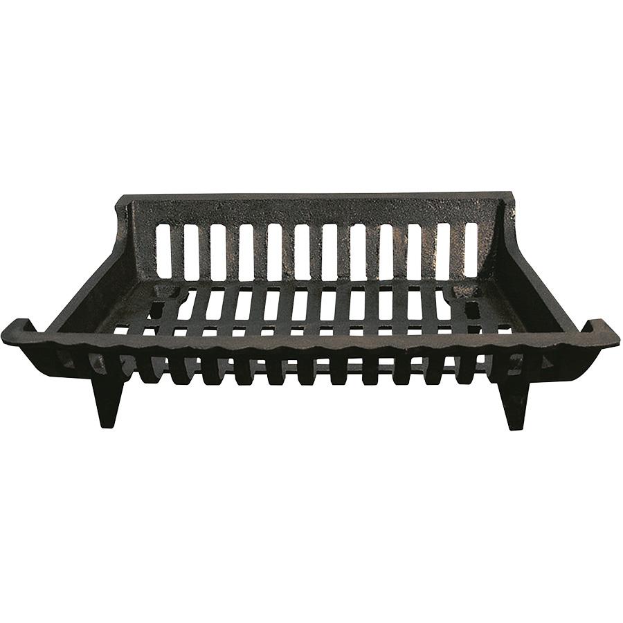 Black Cast Iron Fireplace Grate