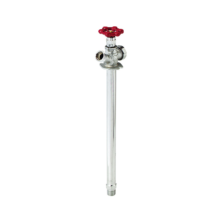"12"" Anti-Siphon Frost-Proof Wall Hydrant 1/2"" MIP or Sweat"
