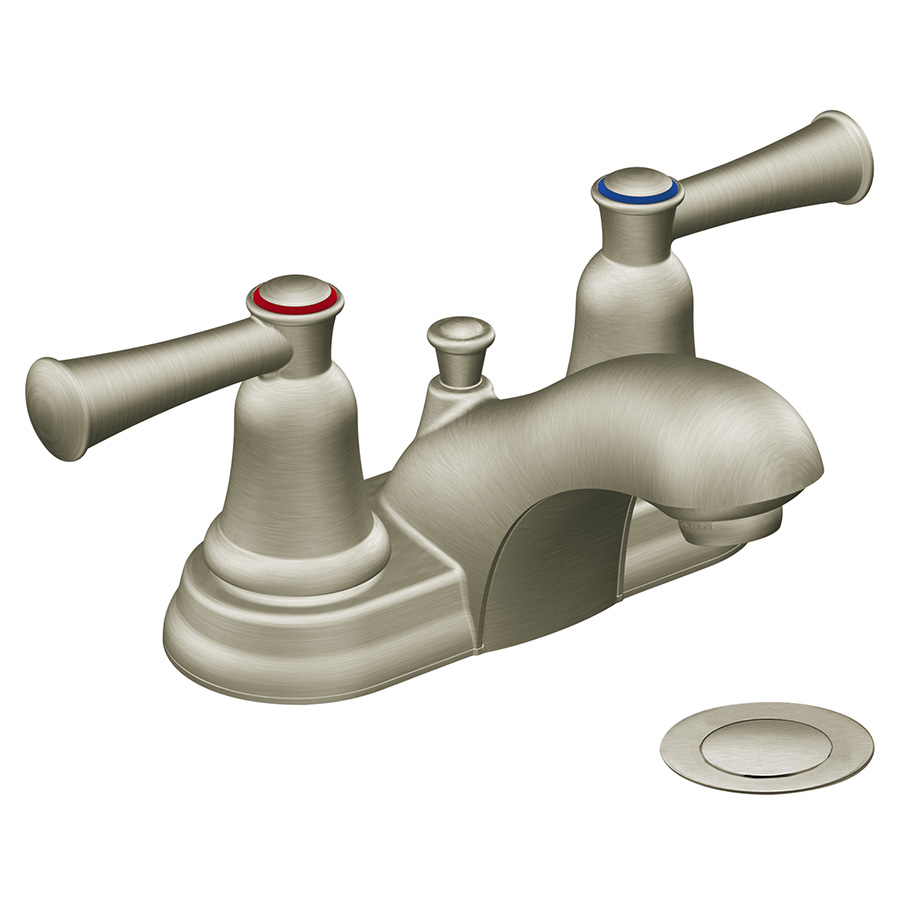CFG Capstone Brushed Nickel Lavatory Faucet with Pop-Up