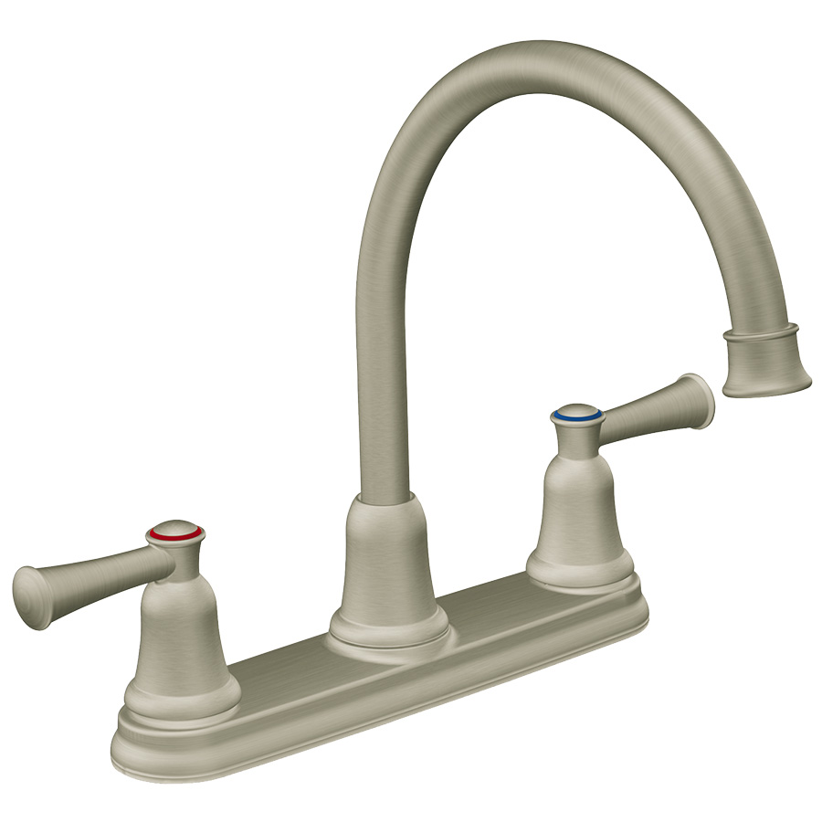 CFG Capstone Classic Stainless High Arc Kitchen Faucet