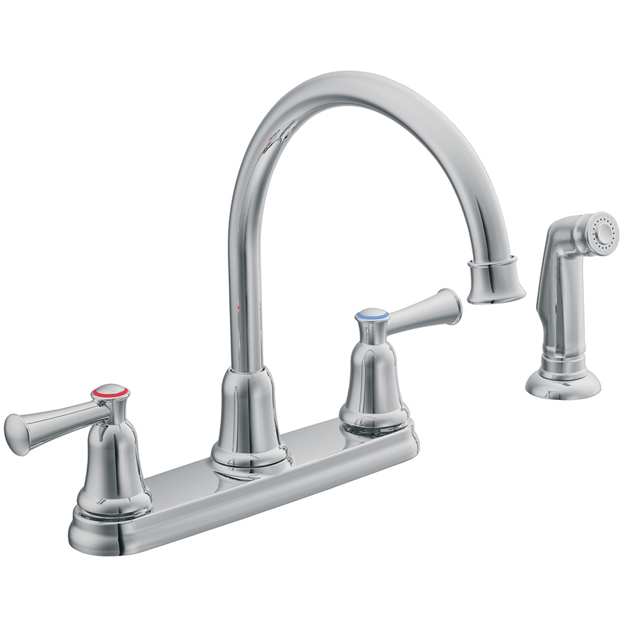 CFG Capstone Chrome Kitchen Faucet with Spray