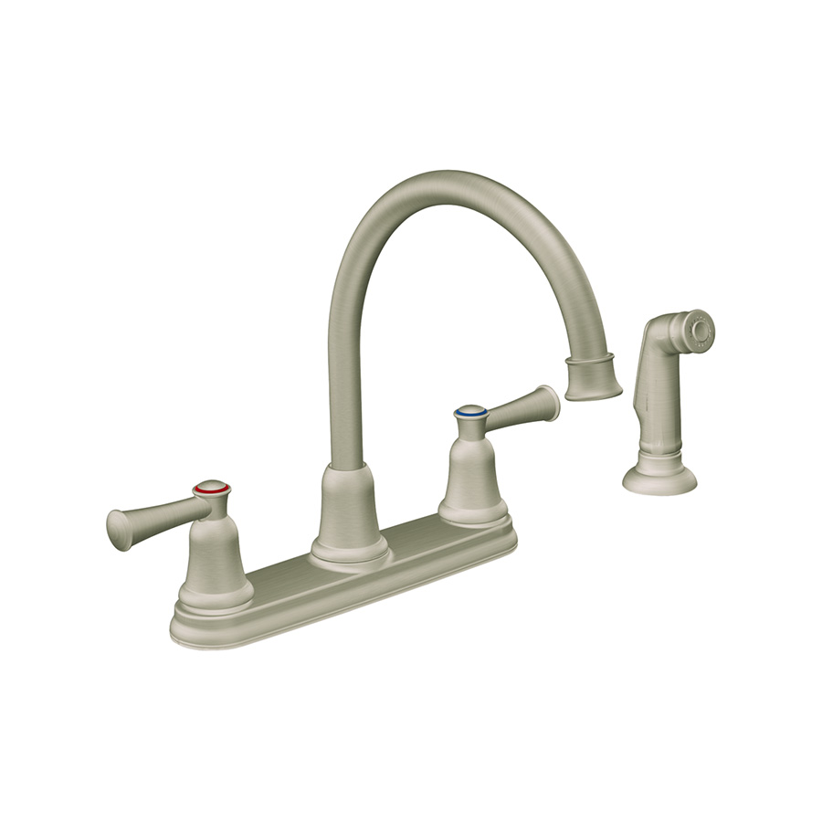 CFG Capstone Classic Stainless Kitchen Faucet with Spray