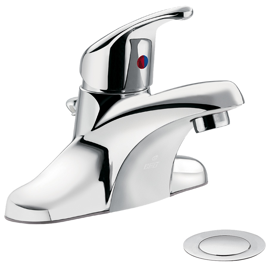 CFG Cornerstone Chrome Lavatory Faucet with Pop-up