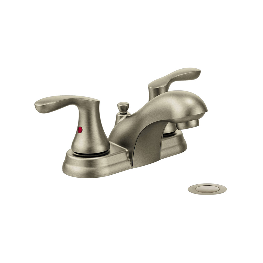 CFG Cornerstone Brushed Nickel Lavatory Faucet with Pop-up