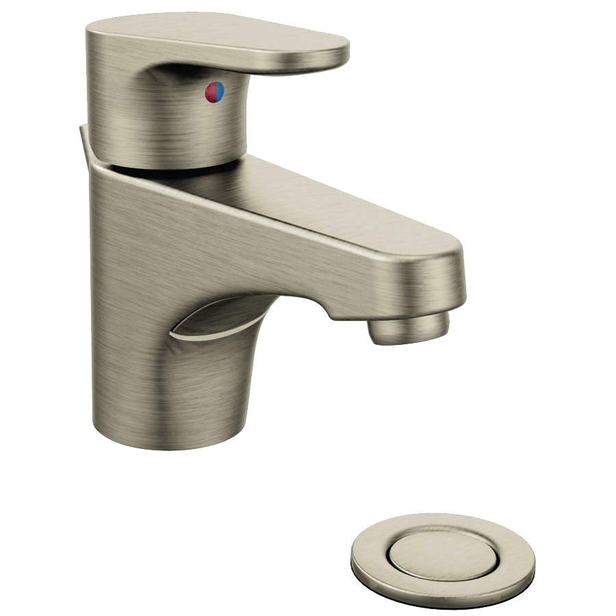 CFG Edgestone Brushed Nickel Lavatory Faucet with Popup