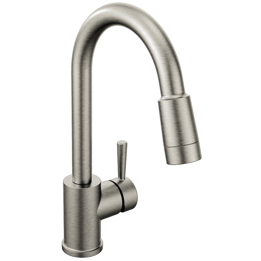 CFG Edgestone Classic Stainless Pull-Down Kitchen Faucet