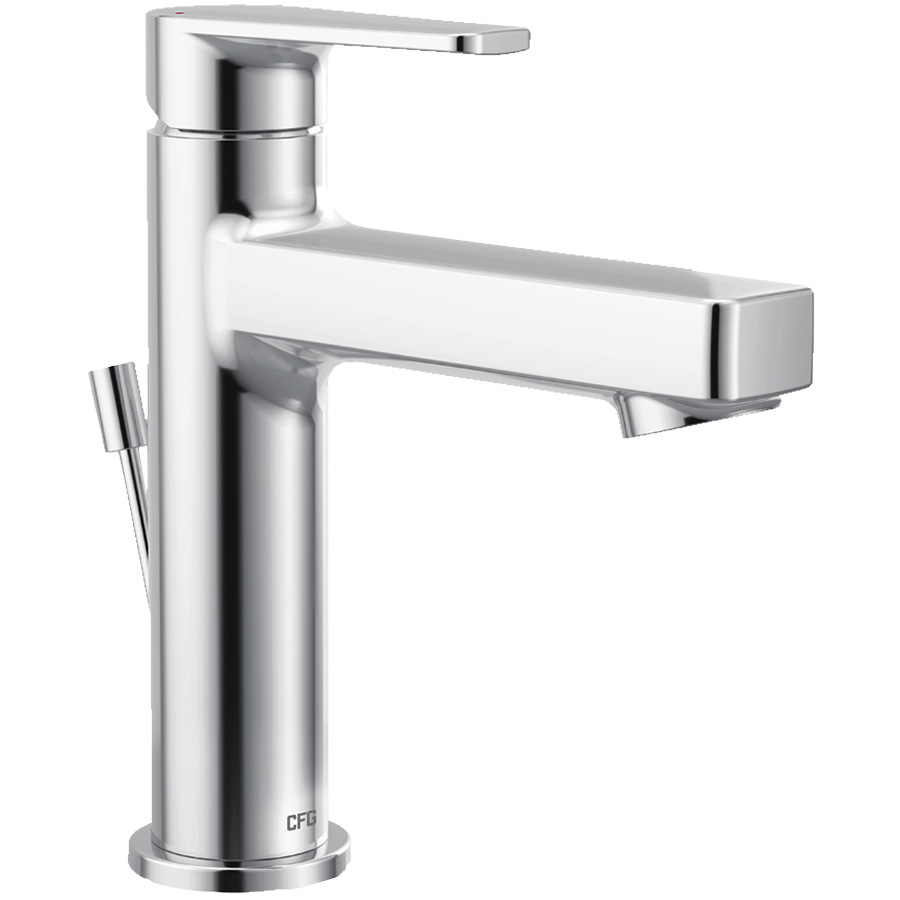 CFG Slate Chrome Lavatory Faucet with Pop-Up
