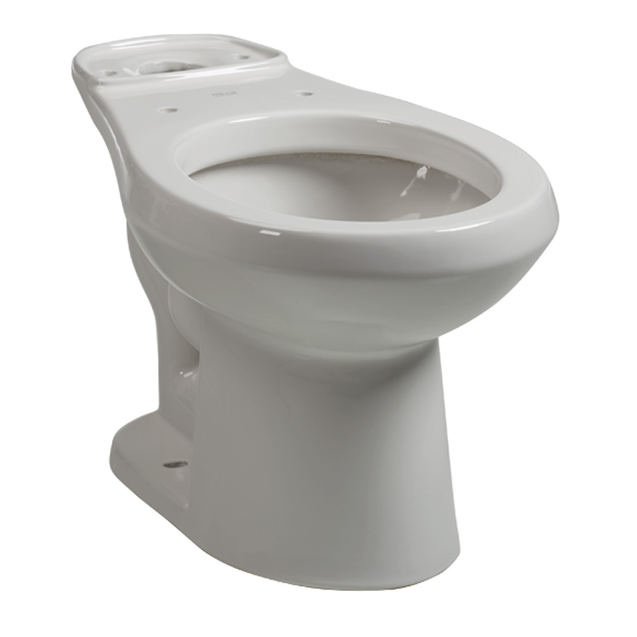 Briggs Round Toilet Bowl White
