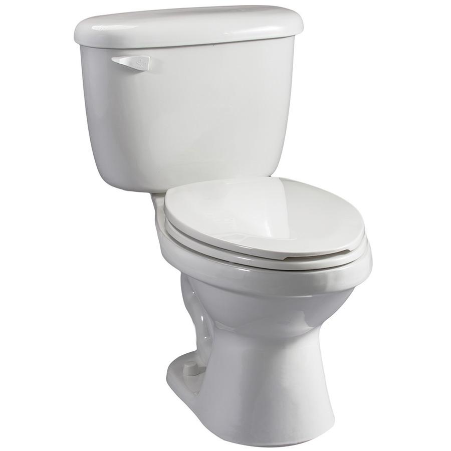 Briggs 1.28 GPF White Elongated Toilet Complete