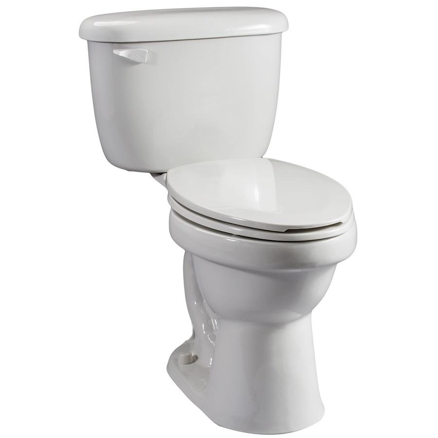 Briggs 1.28 GPF ADA Elongated Complete Toilet White
