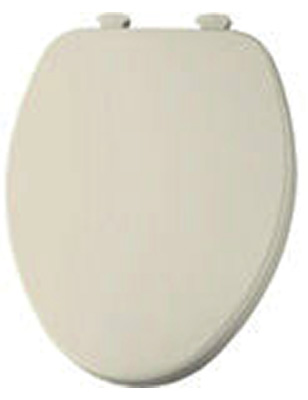 Church Wood Premium Quick-Change Elongated Toilet Seat Bone
