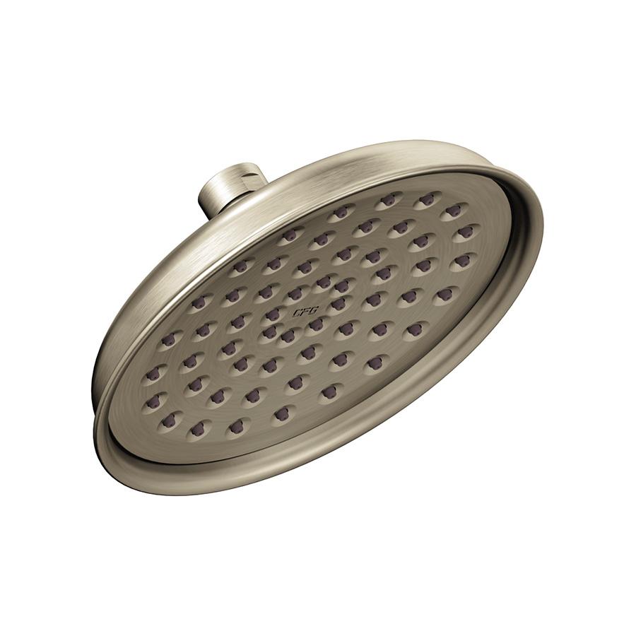 CFG Rain Shower Showerhead 1.75 GPM Brushed Nickel
