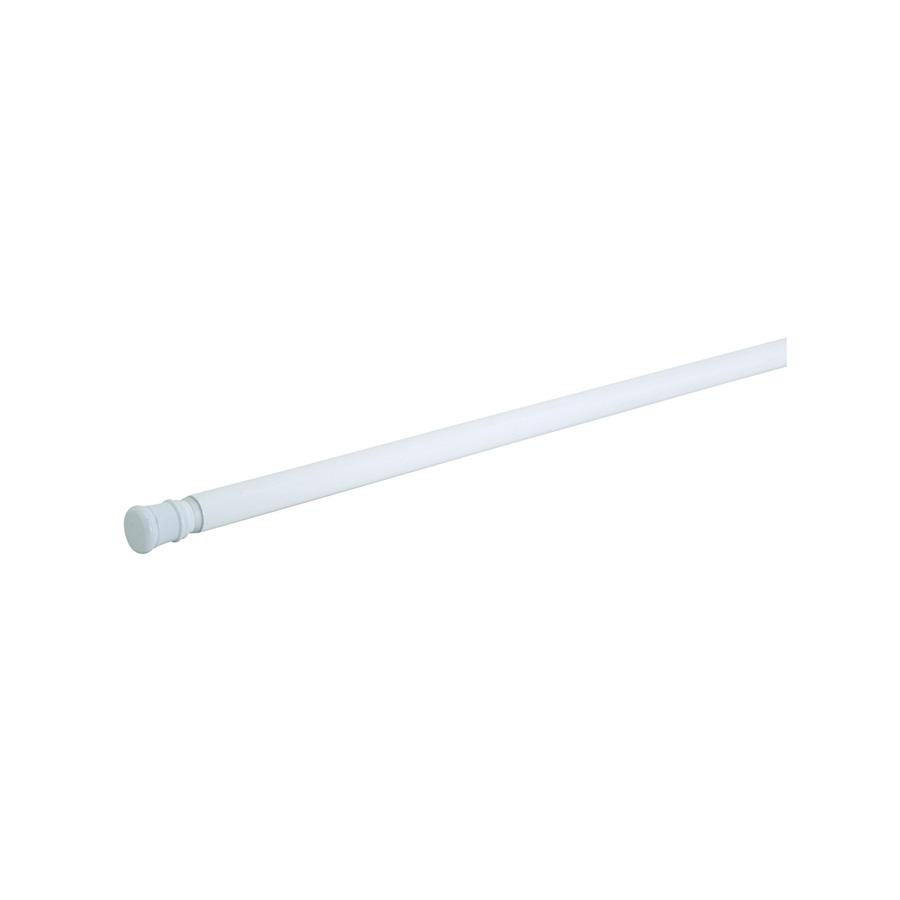 "Adjustable Shower/Tension Rods 42"" - 72"" White"