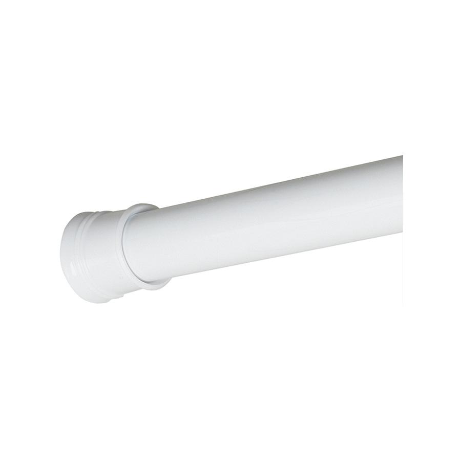 "Adjustable Shower/Tension Rods 54"" - 86"" White"