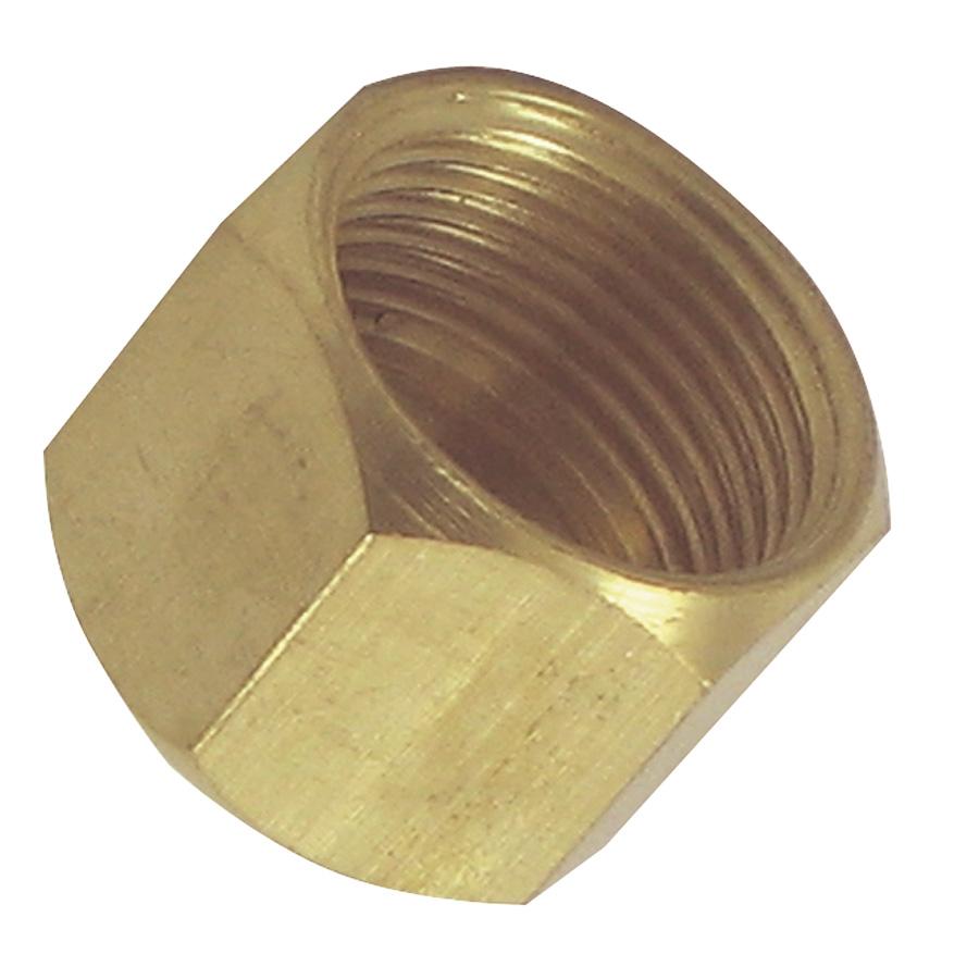 """3/8"""" Brass Compression Caps"""