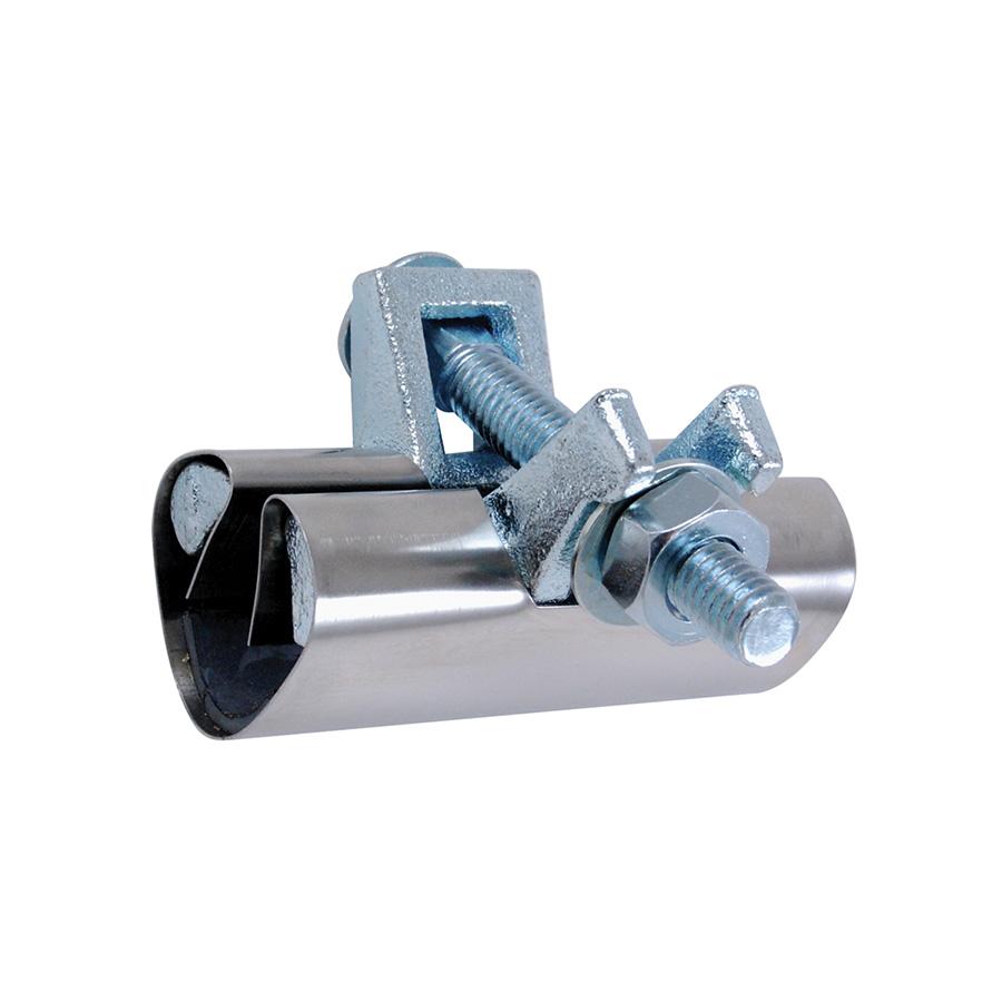 """3/4"""" Pipe Repair Clamp 3"""" Stainless Steel"""