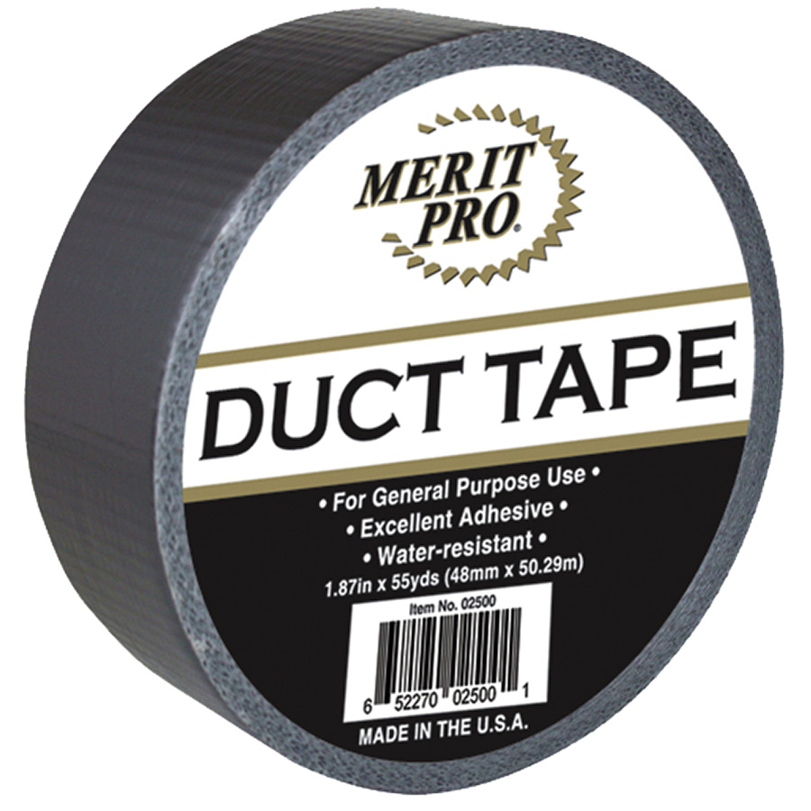 "2"" Grey Duct Tape 60 Yard Roll"