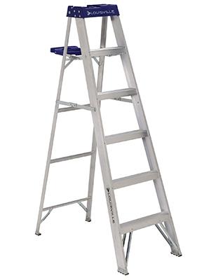 Aluminum Step Ladder 6 ft