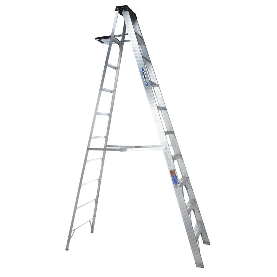 Aluminum Step Ladder 10 ft