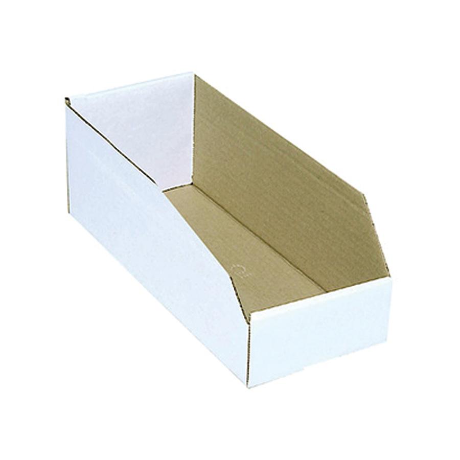 "Cardboard Bin Boxes 2"" x 12"" x 4"""