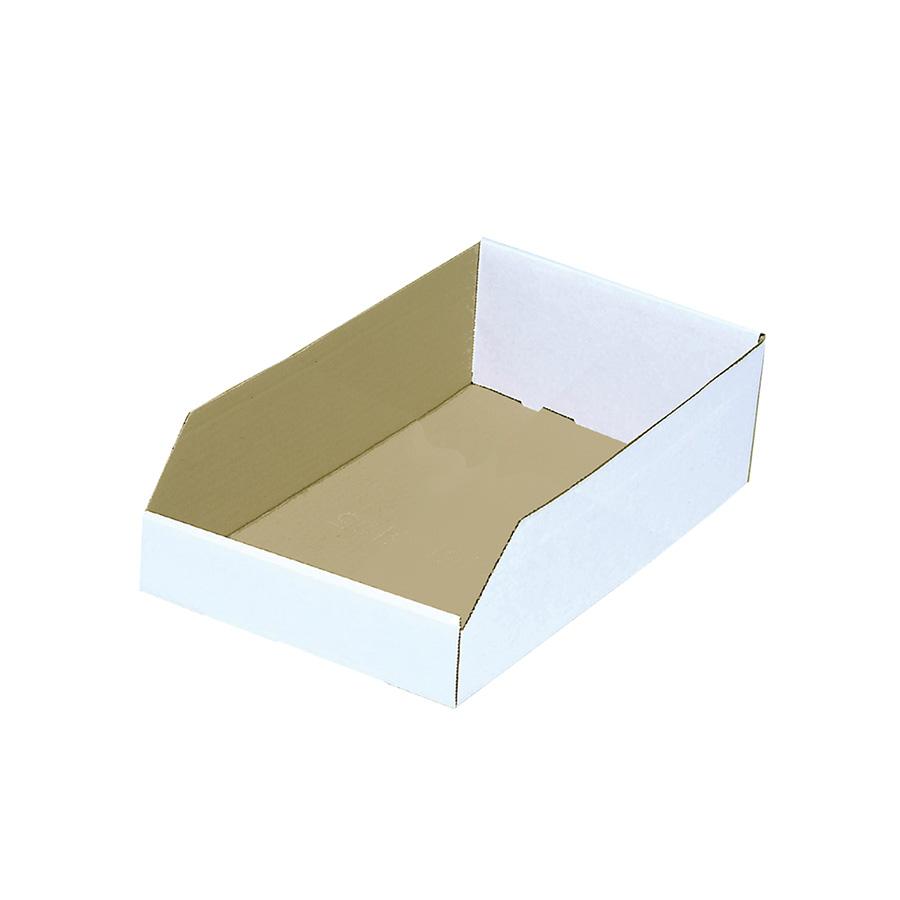 "Cardboard Bin Box 8"" x 12"" x 4"""