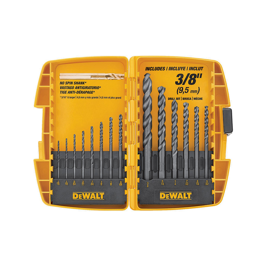 Black Oxide Drill Bit Set 13-Piece