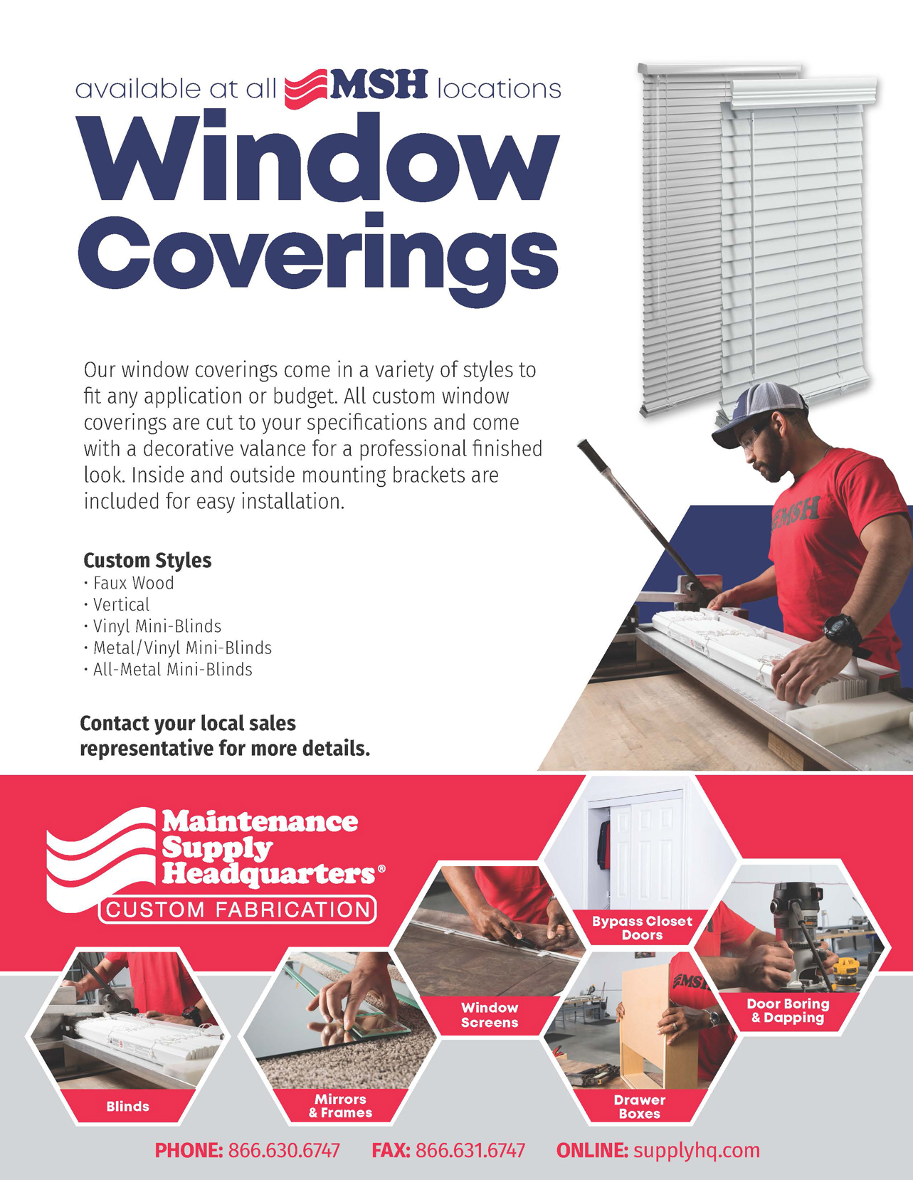 Window Coverings flyer