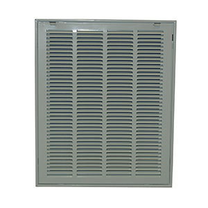 "Return Air Filter Grille White 10"" x 30"""