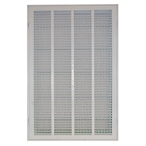 "Return Air Filter Grille White 16"" x 25"""