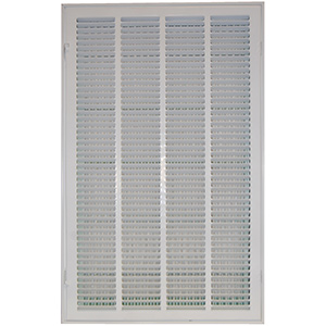 "Return Air Filter Grille White 20"" x 12"""