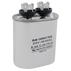 370V Oval Capacitor 10 MFD