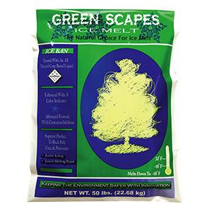 Ice Melt Green Scapes 50 LB Bag