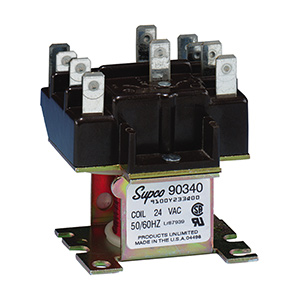 Supco 90-340 Switching Relay DPDT