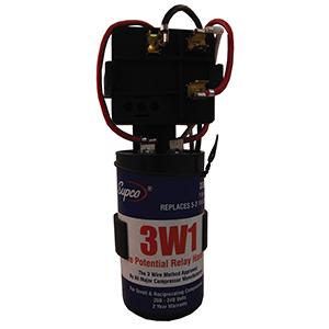 Supco 3-Wire EZ Snap Bracket Hard Start Kit