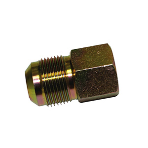 "Brass Gas Connection Adapters 5/8"" OD Flare x 1/2"" FIP"