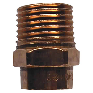 "Copper Male Adapter 3/4"" I.D. Sweat x 1/2"" MIP"