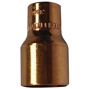 """Copper Reducer 3/4"""" x 5/8"""" O.D. (5/8"""" x 1/2"""" I.D. Nom)"""