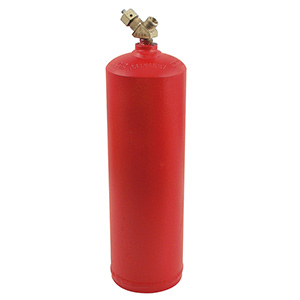 MC 10 Cubic Ft Acetylene Tank Only (Gas Sold Separately)