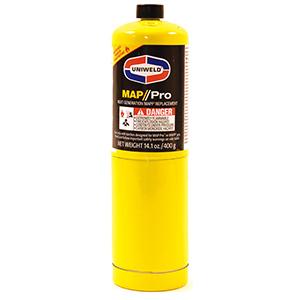 Uniweld MAP//Pro Gas Cylinder 14.1 oz