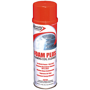 Foam-Plus Foaming Coil Cleaner 19 oz Aerosol