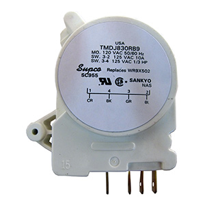 GE Energy Saving Defrost Timer Replaces GE WR9X387,WR9X502