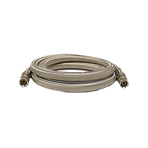 "84"" Stainless Steel Icemaker Supply Line"