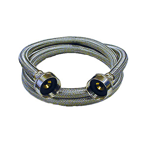 """72"""" Stainless Steel Washing Machine Connector"""