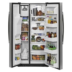 GE 22.5 cu ft Side-By-Side Refrigerator