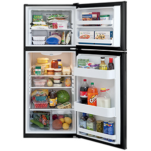 Frigidaire Black 11.6 Cu Ft Top Freezer Refrigerator