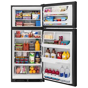 Frigidaire Black 16.0 Cu Ft Top Freezer Refrigerator